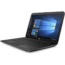 "2018 Newest Business Flagship HP Stream Laptop PC With 1-Year Office 14"" HD WLED-Backlit Display Intel Celeron Dual Core-Processor 4GB RAM 32GB EMMC Hard Drive Bluetooth HDMI Webcam Windows 10-Black"