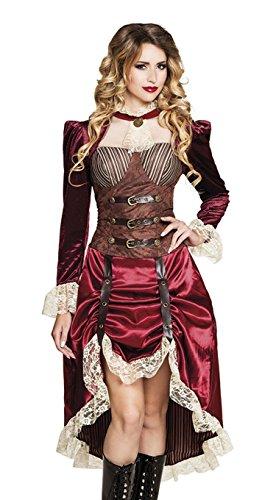 Boland 83647 Erwachsenen Kostüm Lady Steampunk, womens, 36/38