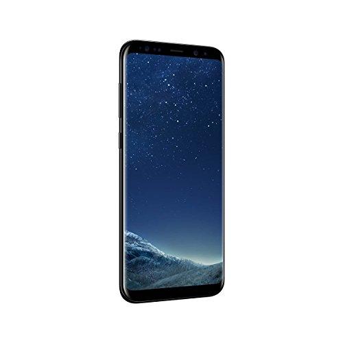 """Samsung Galaxy S8, Smartphone libre (5.8"""", 4GB RAM, 64GB, 12MP/Versión española: incluye Samsung Pay, actualizaciones de software y de Bixby, compatibilidad de redes), color Negro"""