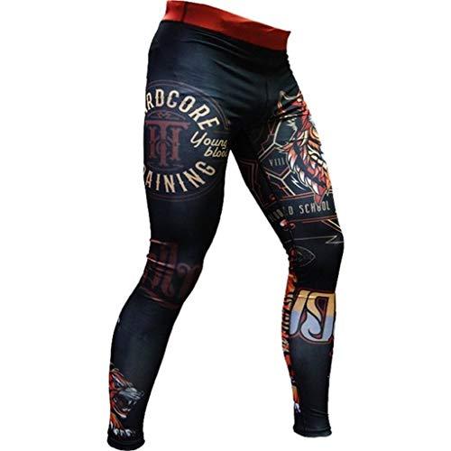 Compression-Pants-For-Men--Training-Pants--MMA-UFC-Grappling-Cage-Jiu-Jitsu--Mens-Leggings-Premium-Quality