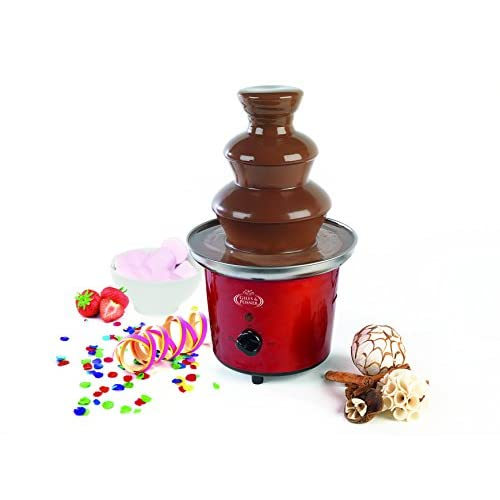 41mhZs61e2L. SS500  - Giles & Posner EK1525 Electric Chocolate Fountain for Fun Cooking, Red