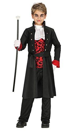 Guirca Edles Vampir Kostüm Halloween Kostüm für Kinder Gr. 98-146, Größe:128/134