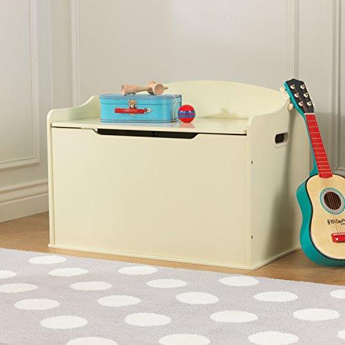 KidKraft Spielzeugtruhe Austin – Vanille, 77,6×46,4×49,8cm - 5