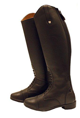 Horseware Irland lang Country-Stiefel–Leder Wasserdicht Atmungsaktiv Reiten UK-Größe 6 braun