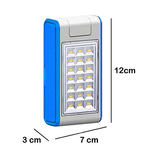 Best solar power bank in India 2020 Pick Ur NeedsTM Emergency 21 LED Wireless Solar Light with Power Bank, Wall Light and Lighting for Wall, Patio, Backyard, Emergency Light, Two Brightness Mode Image 5