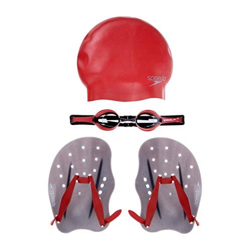 Speedo Erwachsene Accessoires Performance Training Pack Trainingspaket, Red, M (Speedo-performance)