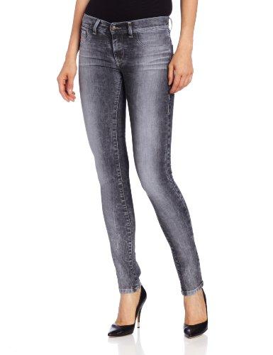 Diesel Livier, Jeans da Donna Grigio