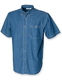Front Row Chemis'en jean à manches courtes