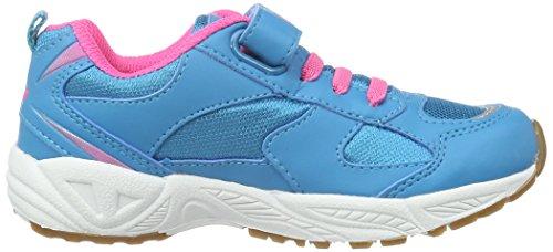 Lico Bob Vs, Scarpe Sportive Indoor Bambina Blu (Blau/Pink)