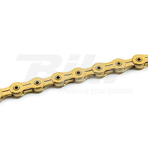 Preisvergleich Produktbild Kette KMC Fahrrad X11SL Gold 11v 5.5mm 228g Shimano Campagnolo sram