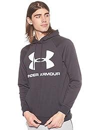 Under Armour Rival Fleece Sportstyle Logo Hoodie, Capo Parte Superiore Riscaldamento Uomo