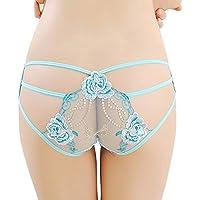 Preisvergleich für Damen Nachtwäsche Spitze Blumen Unterhose Erotik Spitze Lingerie Rock Transparent Frauen Mesh Sexy Hollow Out...