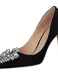 LvYuan-ggx Zapatos de mujer-Tac¨®n Stiletto-Tacones-Tacones-Fiesta y Noche-Sint¨¦tico-Negro / Rosa / Rojo / Plata / Gris / Oro , green-us8 / eu39 / uk6 / cn39 , green-us8 / eu39 / uk6 / cn39