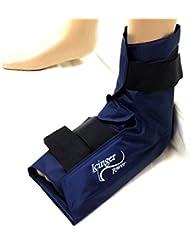 Tobillera con compresa de frío - calor con una alta cantidad de gel para alta eficiencia - Cómoda cubierta de nylon anti derrames
