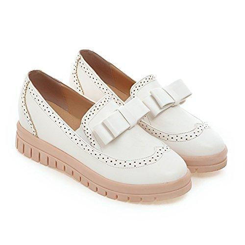 Printemps doux archet ajoutant des chaussures/Coupe-bas fond plat chaussures/Chaussures de l'étudiant A
