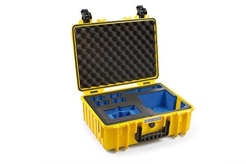 B&W outdoor.cases Typ 5000 mit DJI CrystalSky und DJI Cendence Controller Inlay - Das Original - Controller Crystal Case