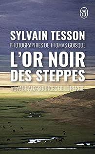 L'or noir des steppes : Voyage aux sources de l'énergie par Sylvain Tesson