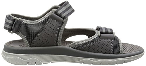Clarks Herren Balta Sky Sandalen Grau (Grey Synthetic)