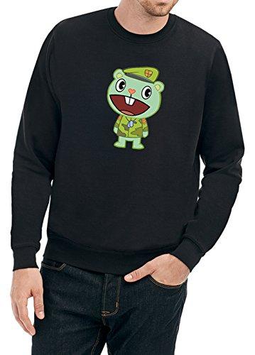 Good Green Bear Sweater Black Certified Freak-S (Sweatshirt Black Baumwolle Bear)