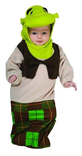 Shrek Baby Bunting Costume Newborn Newborn (Shrek Babys)