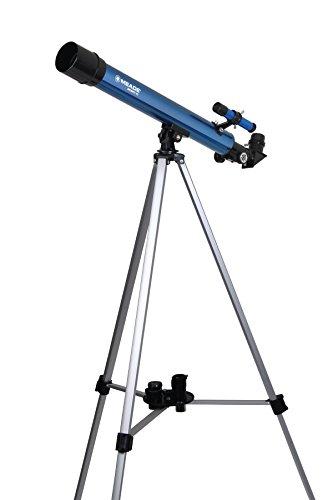 Meade Instrumente Infinity 50AZ Refraktor Teleskop, Metallic Blau