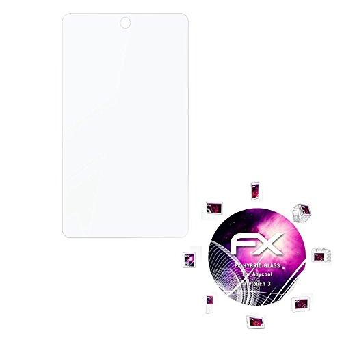 Anycool Flytouch 3 Glasfolie - atFoliX FX-Hybrid-Glass hartbeschichtete elastische 9H Kunststoffglas Folie - besser als Echtglas Panzerglas