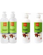 VLCC Almond Honey Deep Nourishing And Skin Brightening Body Lotion, 350ml (Pack Of 2)