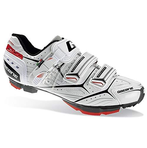 Gaerne G.Olympia Scarpe MTB Ciclismo, White - Bianco, 39