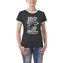 Touchlines Kontrast soft kitty warm kitty girlie ringer - Camiseta