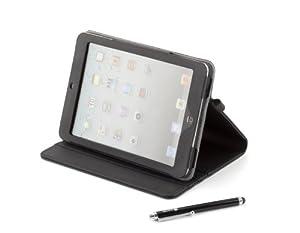 Kit pour iPad mini, constitué d un étui de protection fabriqué en matériaux de haute résistance, avec un revêtement intérieur doux au toucher et 3 niveaux inclinaison pour l utiliser comme support. Un crayon pour lŽécran tactile, deux projecteur d éc...
