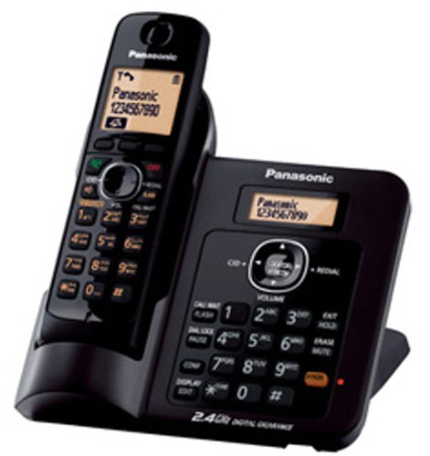 Panasonic Single Line 2.4GHz KX-TG3811SX Digital Cordless Telephone (Black)  available at amazon for Rs.4765