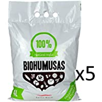 Baltic Worm Ltd. Fertilizante orgánico - Gusano Puro de Gusano báltico 4 litros - Fertilizante