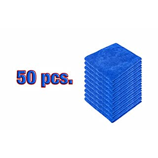 50pcs. Allnano Microfiber Cloth for auto Detailing, Home Cleaning
