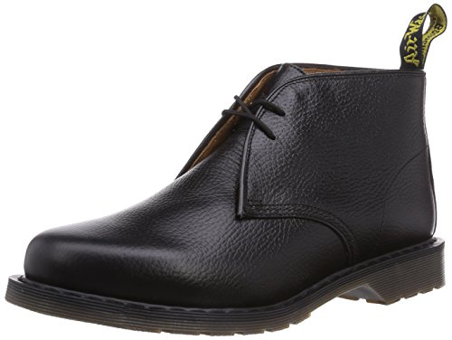 Dr. Martens Sawyer New Nova Black, Herren Desert Boots, Schwarz (Black), 39 EU (6 Herren UK) (Black Grain Pebble)