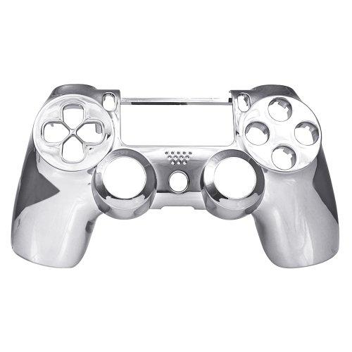 PS4 Oberschale für Dualshock 4 Controller - chrom silber (3 Modell-nummer Playstation)