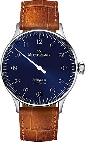 MeisterSinger Pangea einzeiger-Reloj automático para hombre pm907