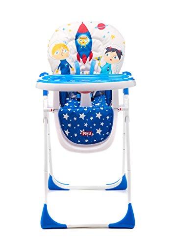 Imagen para Piku Astronautas - Trona para bebés con bandeja regulable