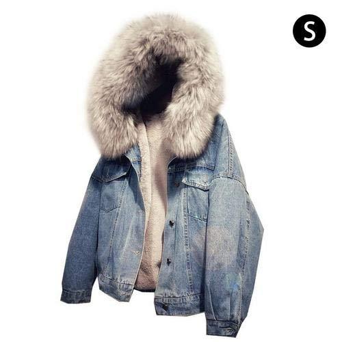 circulor Damen Warm Verdicken Winterjacke, Sweatjacke Jacke Damen - 2019 Autumn and Winter New Korean