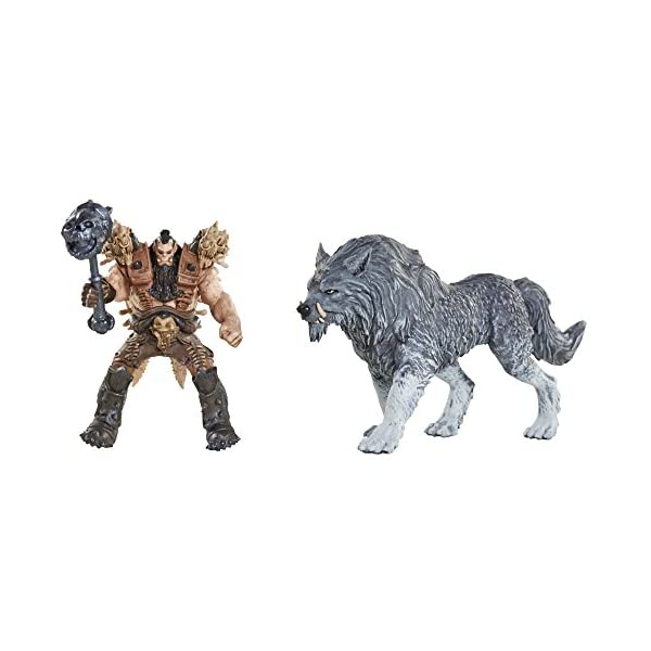 Warcraft - Set de 6 figuras Battle in a box de 6 cm (Jakks Pacific 96257 ) 6