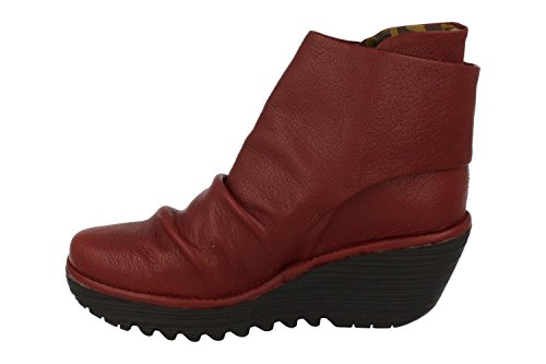 FLY London Damen Yomi765fly Stiefel Rot (Cordoba Red) 4ufRMT