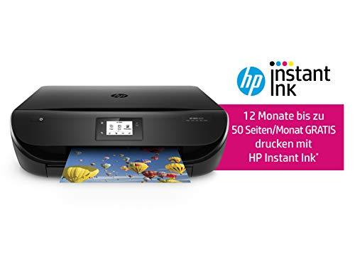 HP ENVY 4525 Multifunktionsdrucker (inklusive 12 Monate Instant Ink kostenlos), 5,5 cm Touchscreen, Bundle: 1 Jahr kostenlos drucken