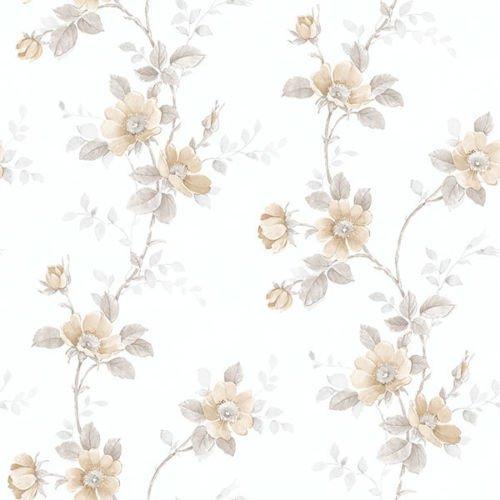 RG35731 - Rose Garden Trellis floral beige