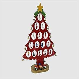 8d7d1d645a WUFANGFF Albero di Natale Decorazioni di Natale/Legno/Mini Albero di Natale/Adornment/La  Finestra di Visualizzazione