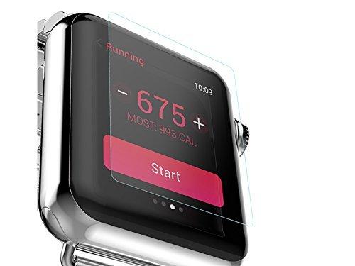 Preisvergleich Produktbild [Apple Watch Series 2 Display Schutz] -TaiYaun Premium gehärtetes Glas Display Schutz für Apple Watch Series 2 (38mm,  iWatch series2 full screen)