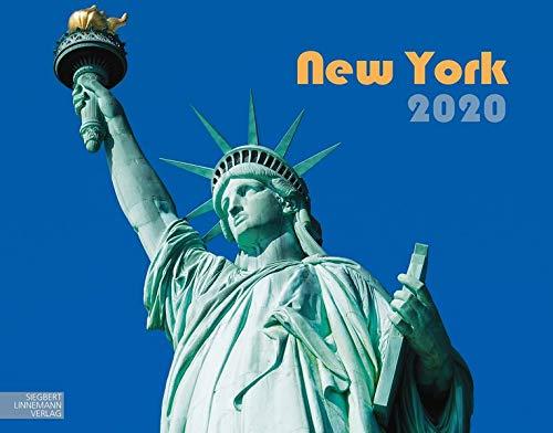New York 2020: Großformat-Kalender 58 x 45,5 cm