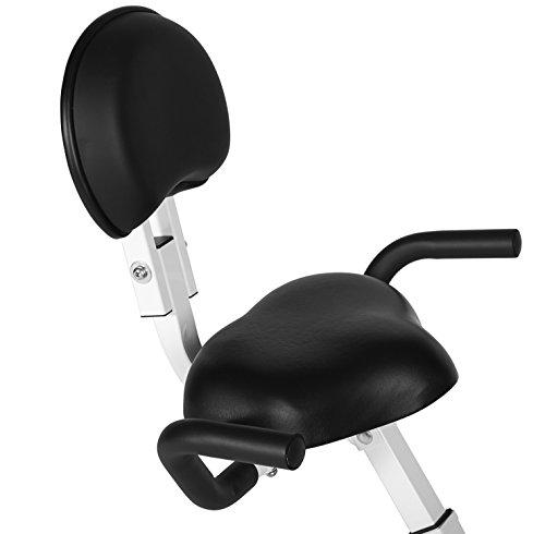 SportPlus Ergo X-Bike mit App-Steuerung, 24 motorgesteuerte Widerstandstufen, inkl. Bluetooth Brustgurt (nur für kurze Zeit!), TÜV/GS, klappbar, int. Tablethalterung, Benutzergewicht bis 100 kg - 5