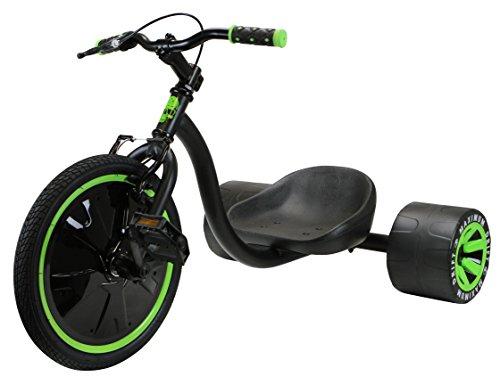 MADD Kinder Drift 16 Zoll Trike, Grün/Schwarz, One Size