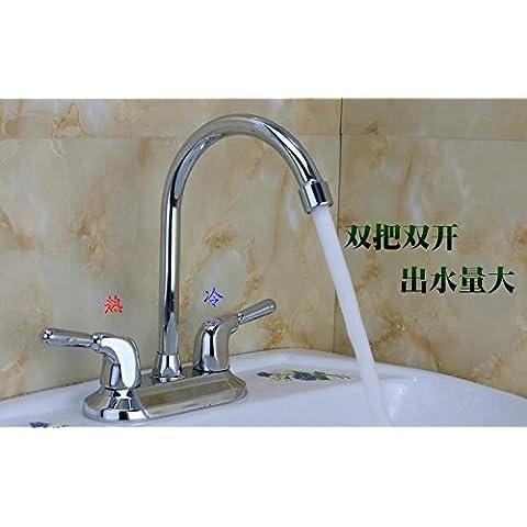 BFDGN semplice resistente e robusto rame spazzolato Servizi igienici bacino-larghi