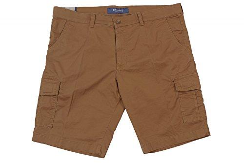 Pionier Herren- Cargo-Shorts in Übergröße, braun karamellbraun