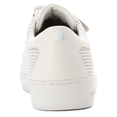 Michael Michael Kors Craig Cuir Baskets Optic White